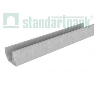 Лоток водоотводный BetoMax Basic ЛВ-10.14.13-Б бетонный 4000 арт.4000