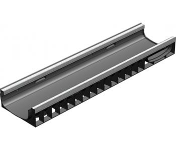 Пластиковый лоток водоотводный Gidrolica standart plus лв-20.24,6.10 арт.8214
