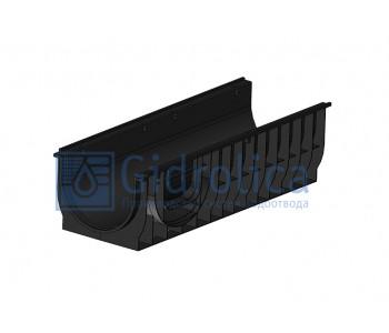 Лоток водоотводный Gidrolica Standart ЛВ-30.38.28 - пластиковый арт.832