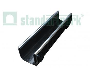 Лоток водоотводный PolyMax Basic ЛВ-20.26.20-ПП пластиковый усиленный 85471-М арт.85471-М