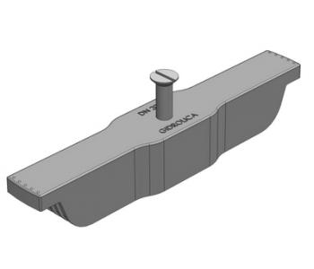 Крепеж Rusdrain для водоотводного лотка пластикового/полимербетонного арт.128м