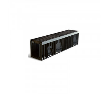 Дренажный водоотвод PROFI PLASTIK (комплект. класс нагрузки Е600) арт.1152