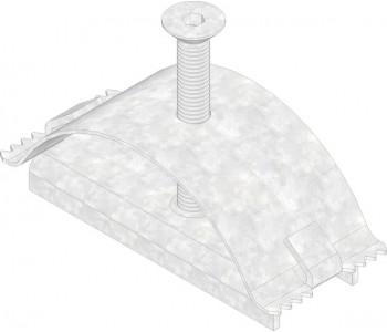 Крепеж для всех стальных решеток, в том числе нержавеющая сталь арт.5090