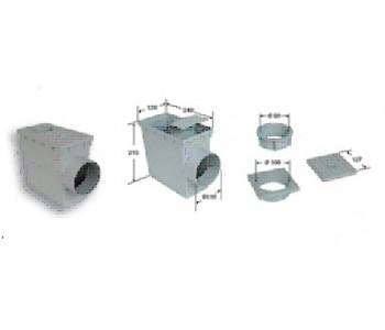 Пескоуловитель с сифоном (горизонтальный отвод) RPCRTVH арт.RPCRTVH