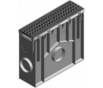 Пескоуловитель RECYFIX PLUS, в сборе с чугунной решеткой GUGI арт.40355