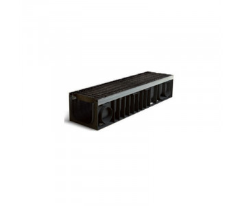 Ливневый лоток PROFI PLASTIK (комплект. класс нагрузки Е600) арт.1200