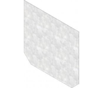 Торцевая заглушка, глухая, оцинкованная сталь, тип 010 арт.14085