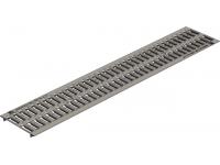Стальная решетка водоотвода Gidrolica standart штампованная оцинкованная pb-15.18,6.100 арт.518