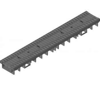 Канал RECYFIX PRO. тип 75, в сборе со щелевой решеткой из полиамида арт.47062