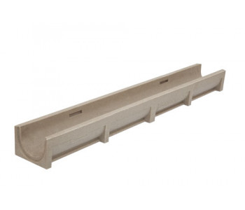 Полимербетонный ливневый канал поверхностного дренажа арт.ВЛ.10.9,5