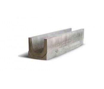 Ливневый дождеприемный канал бетонный NORMA 100 с уклоном 0.5% N10 арт.2010110