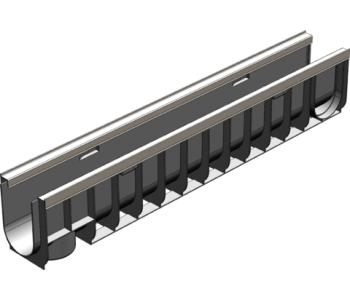 Пластиковый канал Gidrolica standart plus лв-10.14,5.18,5 арт.8024