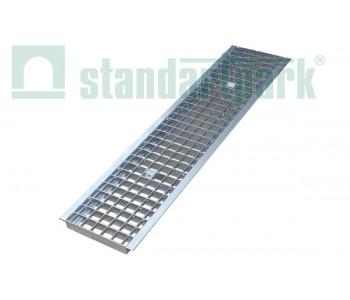 Решетка водоприемная Basic РВ-20.24.100 ячеистая стальная оцинкованная 2520 арт.2520