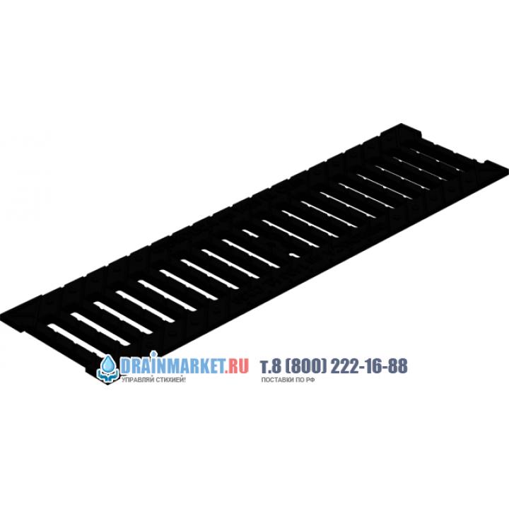 ливневая решетка gidrolica. щелевая чугунная решётка гидролика standart 506 в drainmarket.ru