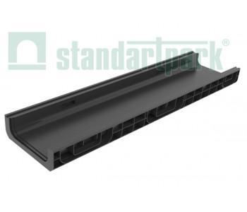 Лоток водоотводный PolyMax Basic ЛВ-20.26.08-ПП пластиковый 8510 арт.8510
