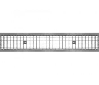 Дренажная решетка DN200 сварная стальная оцинкованная для водоотводов поверхностных арт.2220