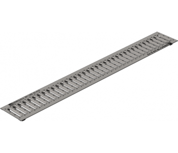 Дренажная штампованная стальная нержавеющая решетка Gidrolica standart рв -10.13,6.100 арт.503