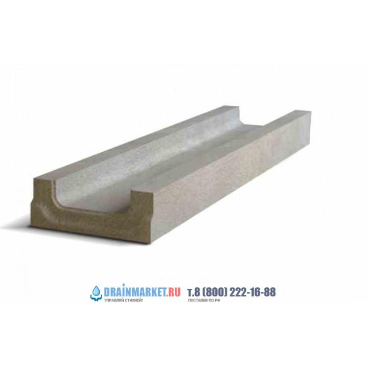 Ливневый дождеприемный лоток бетонный NORMA 200 N0/3 тип 2 арт.2020410