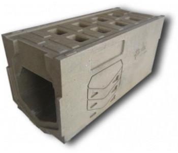 Ревизионный лоток dn200 h380 к ВМБ-20.38 с решеткой, полимербетон арт.РЛ.20.38
