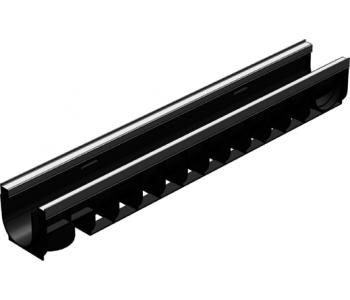 Пластиковый ливневый канал гидролика стандарт плюс лв-10.14,5.13,5 арт.8004