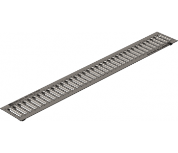 Штампованная стальная оцинкованная дренажная решетка гидролика стандарт рв-10.13,6.100 арт.508