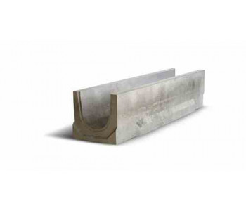 Ливневый водоотводный канал бетонный NORMA 150 с уклоном 0.5% N6 арт.2015106