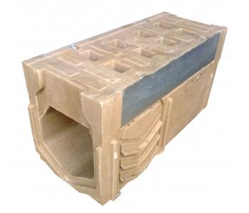 Ревизионный лоток dn110 h230 к ВМБ.11.23 с решеткой, полимербетон арт.РЛ.11.23
