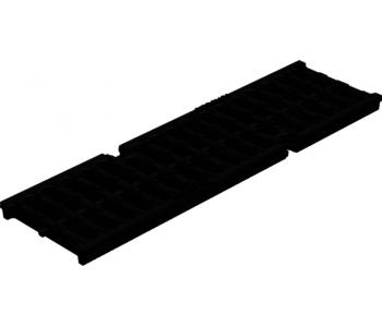 Чугунная решетка Gidrolica super рв-10.14.50 щелевая арт.50109D