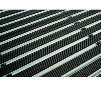 Решетка ACO алюминиевая с резиновым покрытием 100х50 см арт.1215