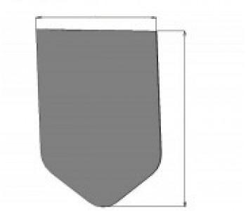 Заглушка к монолитным блокам dn110, сталь арт.ЗС.110