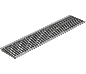 Водоприемная решетка Gidrolica standart ячеистая стальная оцинкованная арт.522