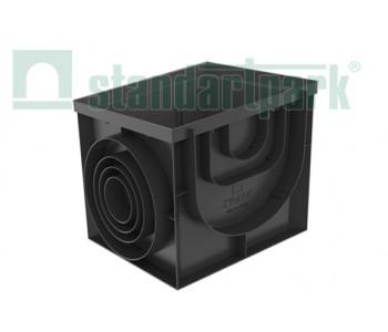 Дождеприемник-пескоуловитель PolyMax Basic ДПП-40.40-ПП пластиковый 8472 арт.8472