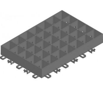 RECYFIX GREEN SUPER. 1 панель  (4шт=1квм) арт.40060