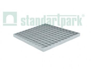 Решетка водоприемная Basic РВ-39.39 ячеистая стальная оцинкованная 34201 арт.34201