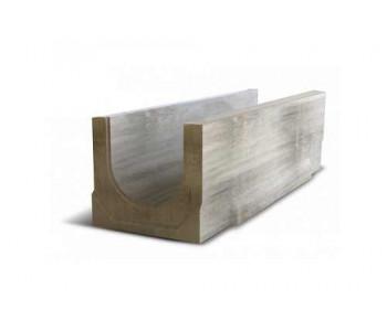 Ливневый дренажный водоотвод бетонный NORMA 200 с уклоном 0.5% N17 арт.2020117