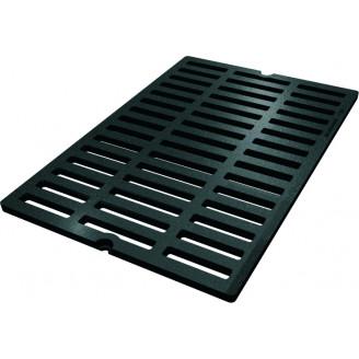 Дождеприемная водоотводная решетка чугунная AQUA-PROM арт.35073C