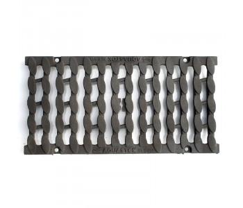 Дождеприемная решетка чугунная щелевая Косичка арт.35017С