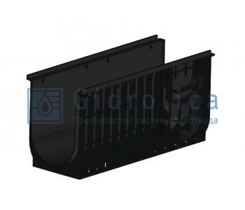 Лоток водоотводный Gidrolica Standart ЛВ-30.38.48 - пластиковый арт.834