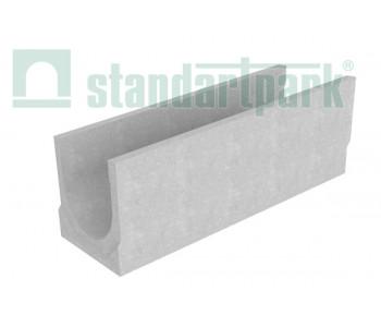 Лоток водоотводный BetoMax Basic ЛВ-30.38.38-Б бетонный с уклоном 4709/3 арт.4709/3