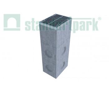 Дождеприемный колодец секционный BetoMax ДК-30.38.44-Б-Н бетонный (нижняя часть) 4770/3  арт.4770/3