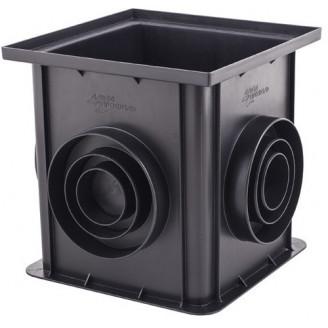 Дождеприеминик пластиковый черный арт.7110