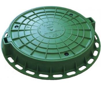 Люк пластиковый легкий малый зеленый арт.5642