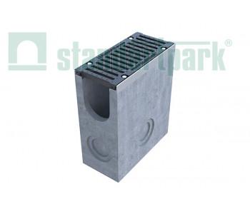 Пескоуловитель BetoMax ПУ-16.25.60-Б бетонный с решеткой щелевой чугунной ВЧ кл.F (комплект) 04381 арт.4381