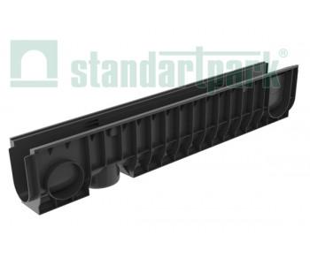 Лоток водоотводный PolyMax Basic ЛВ-10.16.20-ПП пластиковый 8040 арт.8040