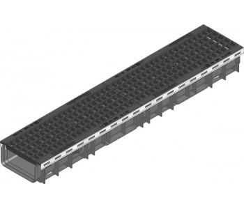 Канал RECYFIX PLUS, тип 100 с чугунной решеткой  GUGI  арт.41041