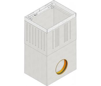 Дождеприемник FASERFIX SUPER из 2-х частей без решетки арт.4050