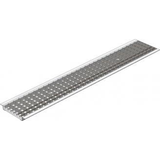 Ливневая дождеприемная решетка Gidrolica standart рв-15.18,7.100 - ячеистая стальная оцинкованная решетка арт.511