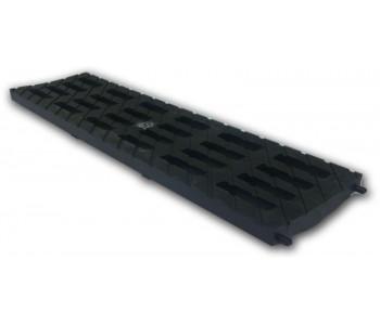 Решетка 100 MEDIUM B-125 (усиленный композитный пластик), цвет черный арт.ДИ 02305000
