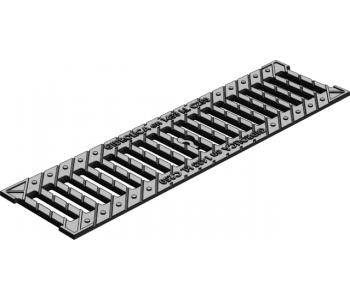 Дренажная решетка щелевая чугунная оцинкованная Gidrolica standart рв-10.13,6.50 вч арт.5065