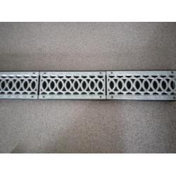 Алюминиевые дренажные решетки